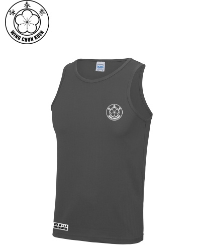 WCKUK Mens Charcoal Training Vest